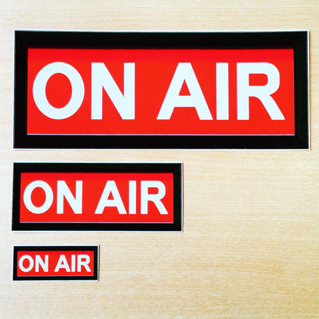 ON AIR シール