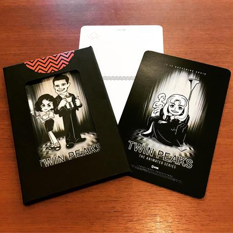 【新発売】TWIN PEAKS THE ANIMATED SERIESポストカードセット
