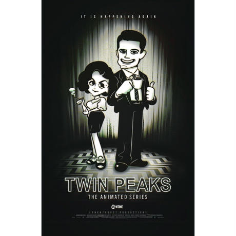 TWIN PEAKS THE ANIMATED SERIESポストカードセット