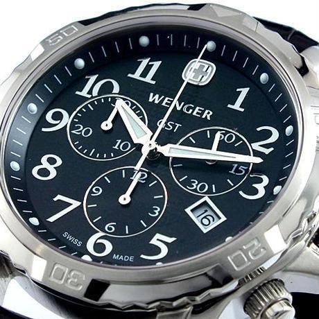 ウェンガー WENGER GST クロノグラフ 腕時計 78255