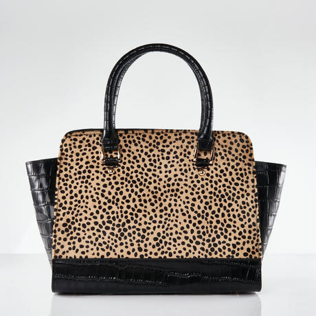 Croco Handbag / Bengal Cat Color 送料無料商品