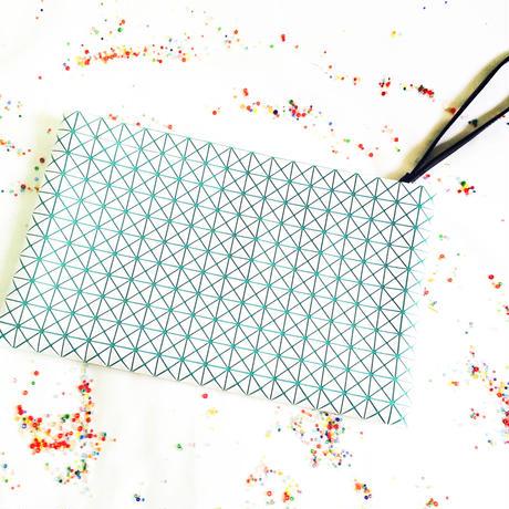 Milky Clatch Bag / Milky Green ¥15,000 (16,200)