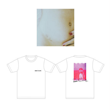 MADE IN LOVE(CD)+PHOTO T-SHIRT(A)【数量限定】