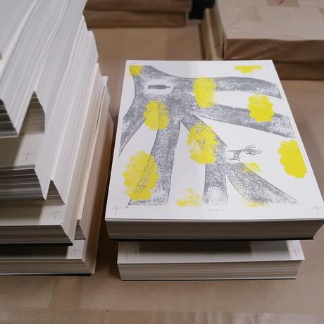 【5刷5月12日完成】美篶堂手製本絵本『くままでのおさらい』特装版(世界で最も美しい本コンクール2018銀賞)