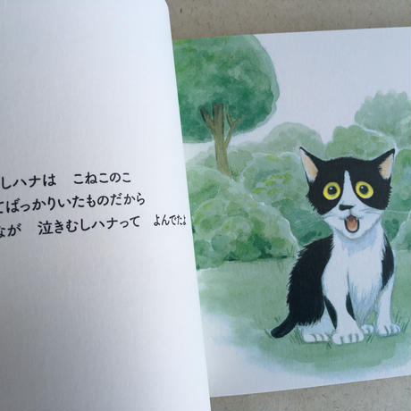 絵本『泣きむしハナ 泣かなかった』