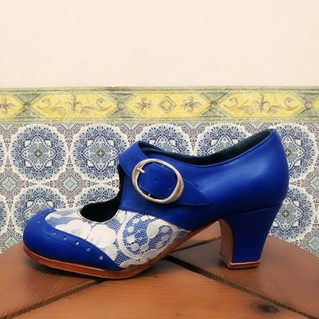Zapatos Fatima Azul