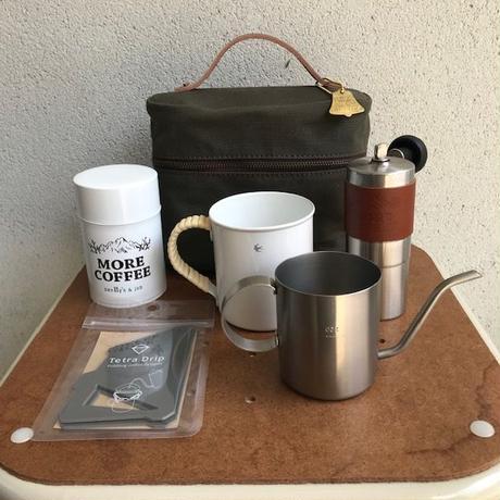 coffee nodate bag  (オリジナルコーヒー野点バッグ)ショート  SET