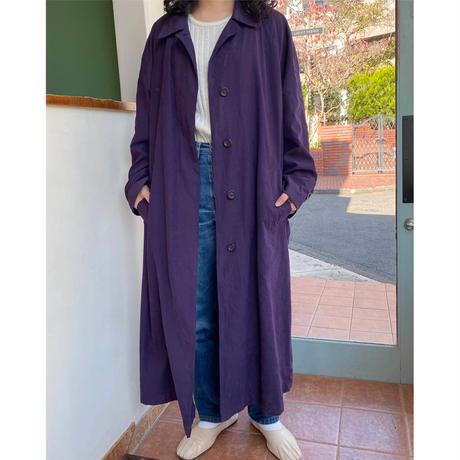 London fog purple coat
