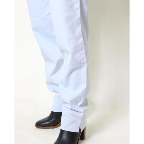 ice blue slit pants