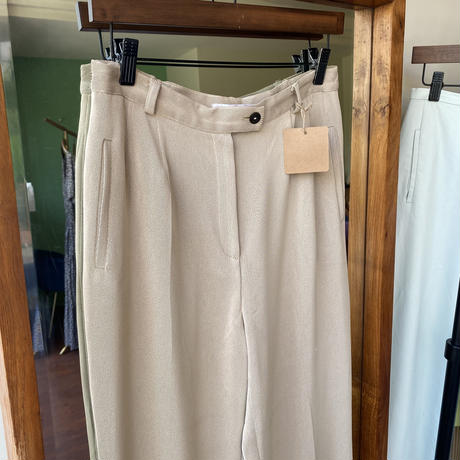 beige slacks