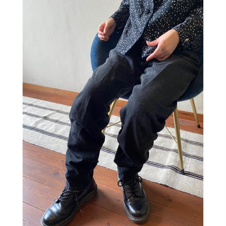 90s levis black denim