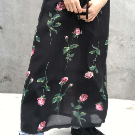 【NORMAKAMALI】 see-through skirt