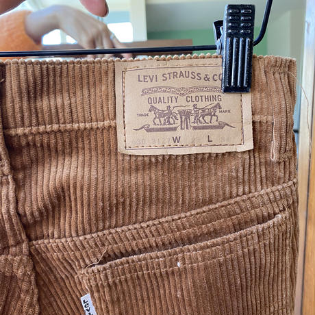 70s made in UK levis630 corduroy