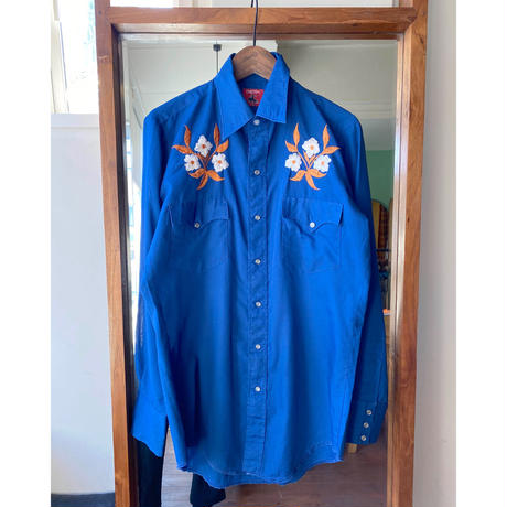 embroidery Western shirt