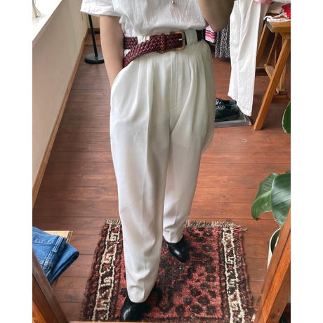 white slacks
