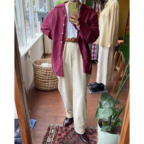 cream color slacks