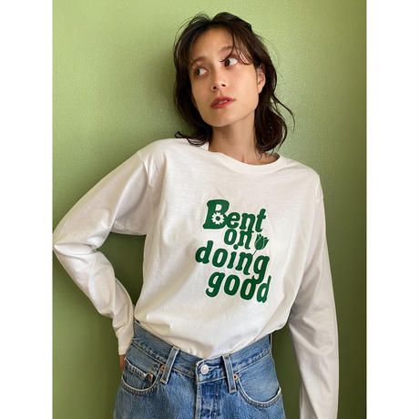 Bent on doing good long sleeve Tee