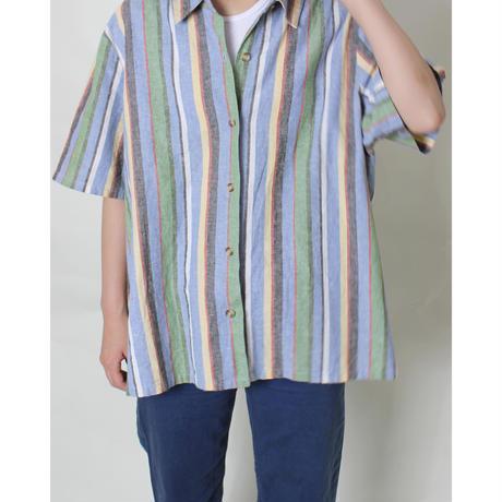 mulch stripe halfshirt