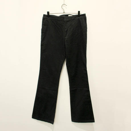 AW 【LACOSTE】black flare pants