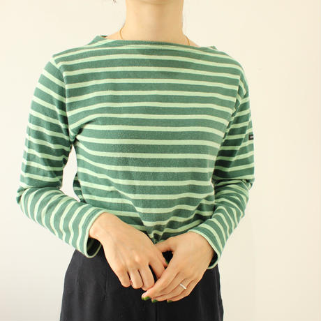 【 SAINT JAMES】Basqueshirt green