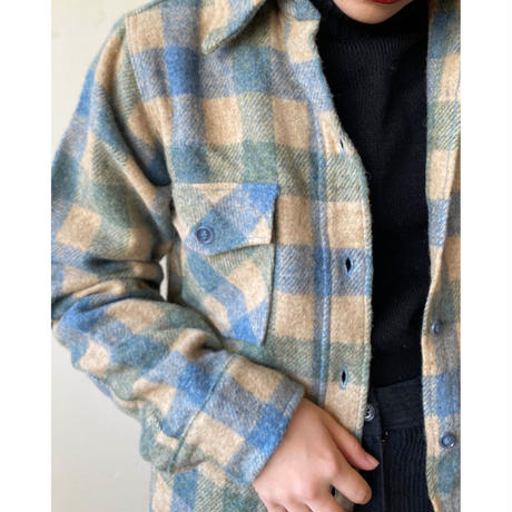 70s L.L.Bean wool shirt