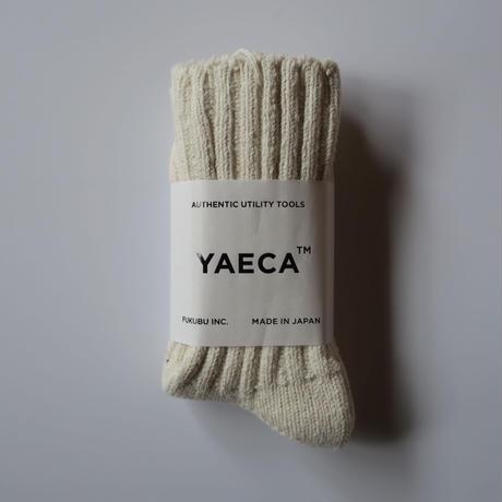YAECA COTTON SILK SOCKS 5colors