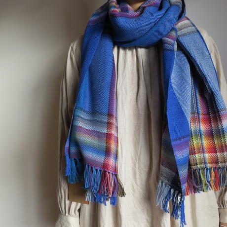 THE INOUE BROTHERS ... Multi Colored Scarf 7colors
