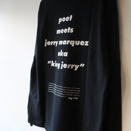 POET MEETS DUBWISE POET MEETS KING JERRY L/S TEE 2colors PMDAH-0051