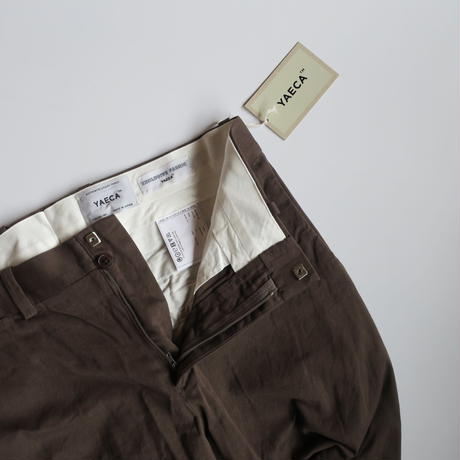 YAECA MEN CHINO CLOTH PANTS スタンダード 3colors  10654