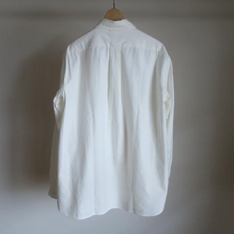 YAECA MEN BUTTON SHIRTS BD WHITE 11102
