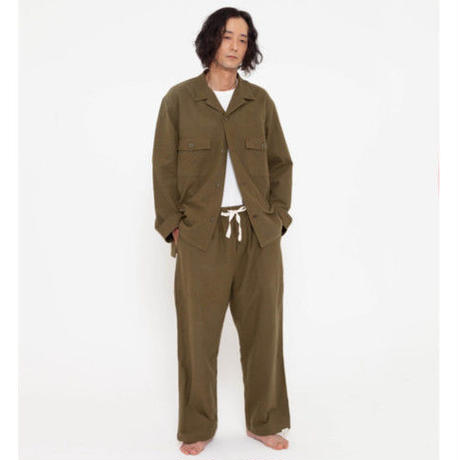"NOWHAW "" mill Utility "" pajama OLIVE"