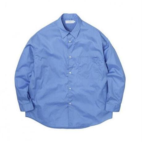 Graphpaper MEN Broad Oversized L/S Regular Collar Shirt 3colors GM213-50110B