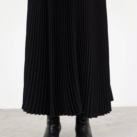 Graphpaper WOMEN Satin Pleats Skirt 3colors GL213-40129
