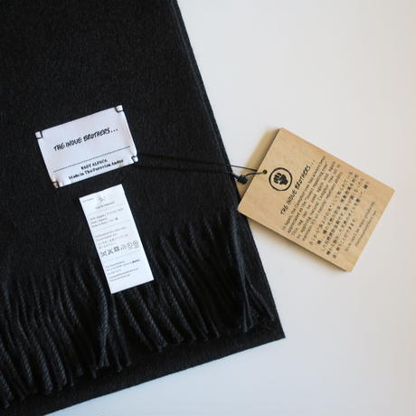 THE INOUE BROTHERS ... Brushed Scarf 9colors