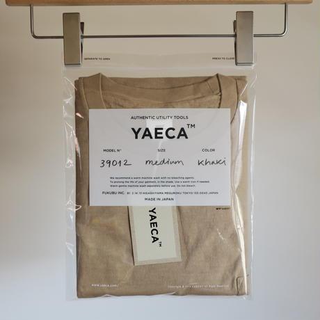 YAECA MEN Crew Neck Pocket Tee 3colors 39012