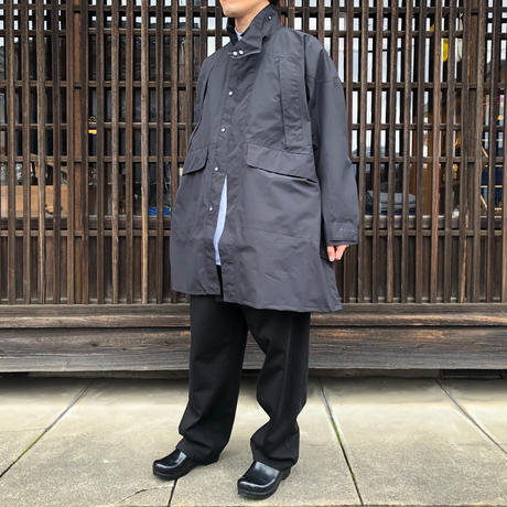 KAPTAIN SUNSHINE Gore-Tex Stand Collar Field Coat BLACK