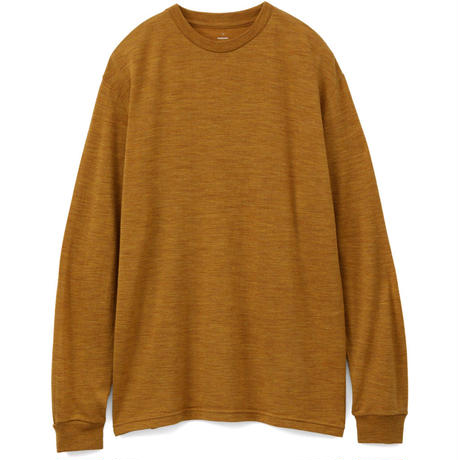Graphpaper Washable Wool Crew Neck Tee 2colors GU193-70070B