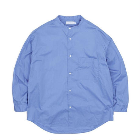 Graphpaper MEN Broad Oversized L/S Band Collar Shirt 3colors GM213-50111B
