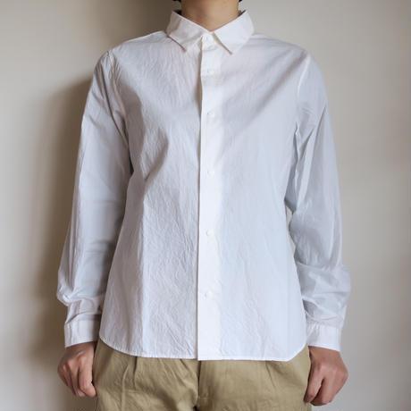 YAECA WOMEN コンフォートシャツ  STANDARD WHITE 171201
