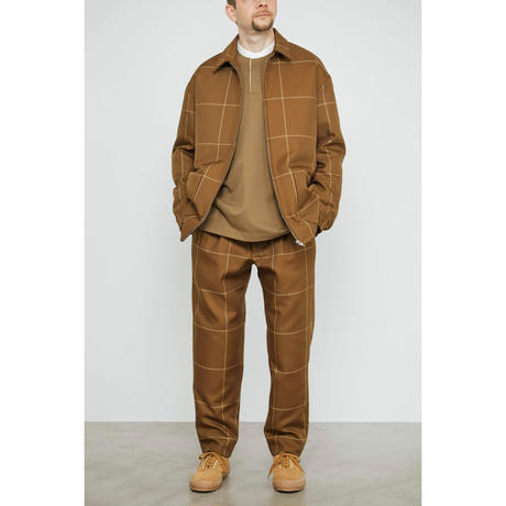 Graphpaper MEN Original Pane Blouson BROWN GM193-30055