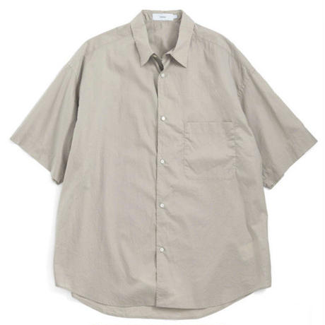 Graphpaper MEN Broad Oversized S/S Shirt 4colors GM191-50031