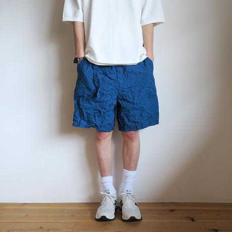 Graphpaper MEN Wrinkled Baker Shorts 3colors GM211-40089
