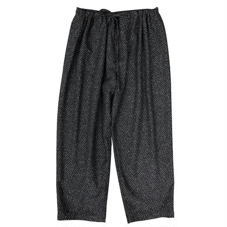 KICS DOCUMENT / KHONOROGICA NEP HERRINGBORN GATHERED PANTS  GRAY