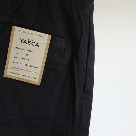 YAECA MEN CHINO CLOTH PANTS タックテーパード 19606   18603 3colors