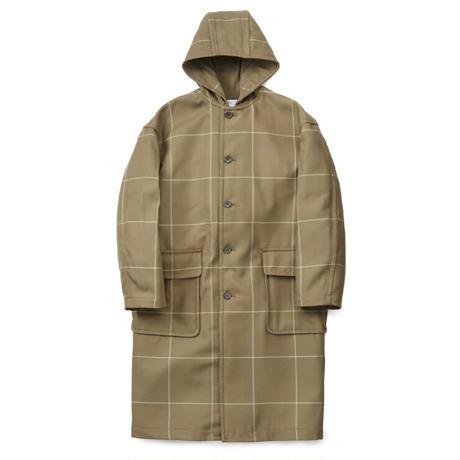 Graphpaper MEN Original Pane Hooded Coat 2colors GM193-10054