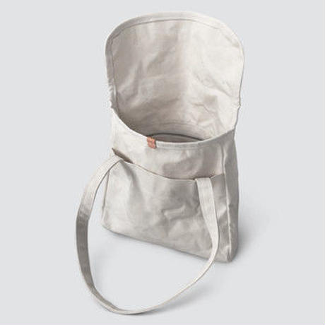 STUFF flap tote SIZE No.1 Cotton Paraffin Canvas 2colors