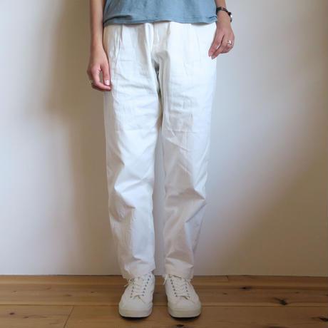 YAECA WOMEN CHINO CLOTH PANTS タックテーパード 3colors 69603