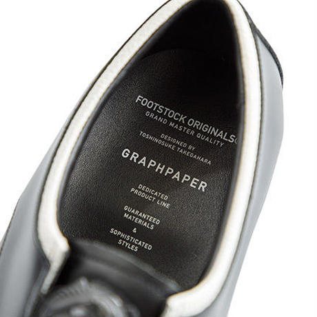 "Graphpaper MEN ""FOOTSTOCK ORIGINALS"" for Graphpaper Leather Shoes"