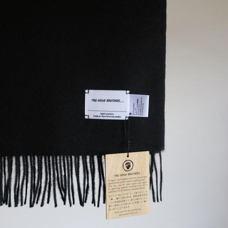 THE INOUE BROTHERS ... Brushed Scarf 7colors