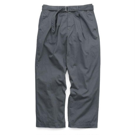 Graphpaper MEN Military Cloth Belted Pants  GRAY GU201-40062B